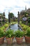 Fountain in Arundel Castle Garden, England Royalty Free Stock Photo