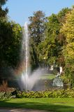 Fountain at Astridpark  at Brugge - Belgium Royalty Free Stock Photos