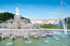 Free Fountain At Herrenchiemsee Royalty Free Stock Image - 43202226