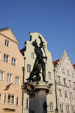 Fountain in Augsburg. Famous fountain in Augsburg made by Adriaen de Vries in 1596 Royalty Free Stock Images