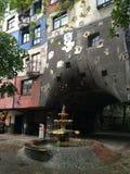 Fountain. Austria travel Vienna house Stock Image