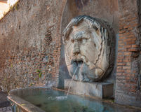 Fountain in Aventine Hill, Rome, Italy Stock Photos