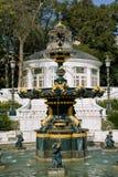 Fountain in Baku stock photography