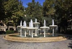 Fountain in Baku town. Azerbaijan Royalty Free Stock Image