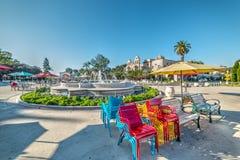 Fountain in Balboa park. California Stock Photos