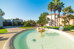 Fountain in Balboa park. San Diego Royalty Free Stock Image