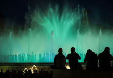 Fountain Barcelona Stock Photos
