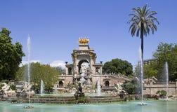 Fountain in Barcelona Stock Photography