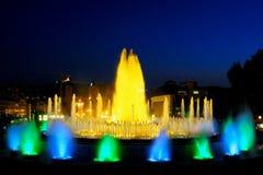 Fountain in Barcelona.Spain. Stock Photography