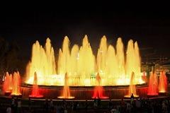 Fountain in Barcelona.Spain. Stock Image