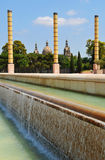 Fountain in Barcelona, Spain Royalty Free Stock Image