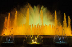 Fountain in Barcelona, Spain Stock Image