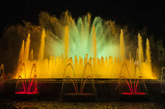 Fountain in Barcelona, Spain Royalty Free Stock Photography