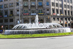 Fountain in  Barcelona Stock Image