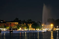 Fountain in Bardolino Stock Photography