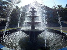 Fountain. The fountain is Beautiful Royalty Free Stock Images
