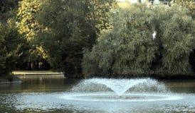 Fountain. At Bedford Park, England Royalty Free Stock Photos