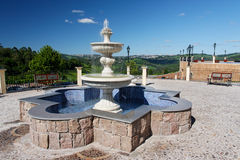 Fountain in Bento Goncalves Stock Photo