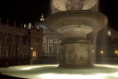 The fountain of the Bernini in Rome Stock Images