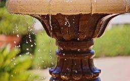 Fountain bird bath Royalty Free Stock Photos