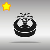 Fountain black Icon button logo symbol Stock Photos