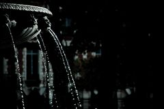 Fountain in black and white stock photos