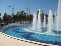 Fountain at the Blue Mosque Royalty Free Stock Photos