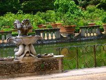 Fountain in Boboli garden Stock Image