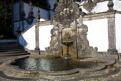 Fountain in Bom Jesus Do Monte, Braga Royalty Free Stock Photos