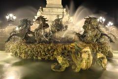Fountain bordeaux Stock Photos