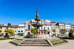 Fountain in Braga. Fountain in the center of Braga, Portugal Royalty Free Stock Photos