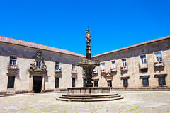Fountain in Braga Royalty Free Stock Photo