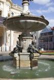 Fountain in Bratislava. An Ornate Fountain in Bratislava Royalty Free Stock Photos