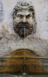 Fountain Bronze Pigna at Vatican Stock Photos