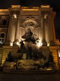 Fountain in Buda Castle Stock Image