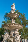 Fountain in Budapest Hungary Stock Images