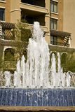 Fountain and Building Royalty Free Stock Photos