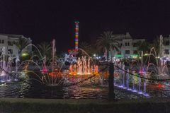 Sousse by night stock photos