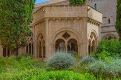 Fountain building at the twelfth century Cistercian monastery of Santa Maria de Poblet