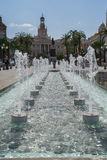 Fountain in Cadiz Royalty Free Stock Photography