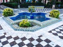 Fountain in Cadiz Stock Image