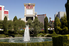 Fountain in Caesar's Palace Hotel and Casino in Las Vegas, Nevada Stock Photography