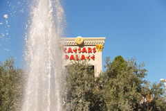 Fountain in Caesar's Palace in Las Vegas Stock Photography