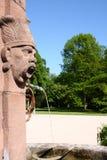 Fountain castle favorite rastatt förch. Fountain in a park in castle favorite rastatt förch near Baden-Baden Royalty Free Stock Image