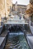 Fountain in Catania royalty free stock photo