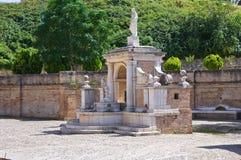 Fountain Cavallina. Genzano di Lucania.Italy. Stock Images