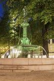 Fountain in the center of Gothenburg. Gothenburg, Vasstergotland and Bohuslan, Sweden royalty free stock image
