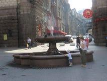 The fountain in the center of Kiev. Ukraine, Kiev Royalty Free Stock Photos