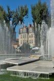 Fountain in the center of Pleven, Bulgaria Stock Image