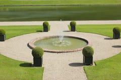 Fountain at Chateau Villandry Royalty Free Stock Photo